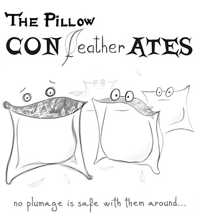 The Pillow CONfeatherATES