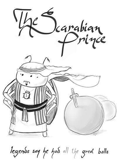 The Scarabian Prince