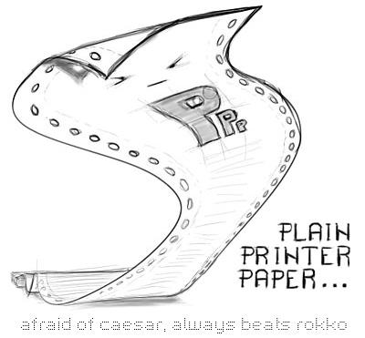Plain Printer Paper